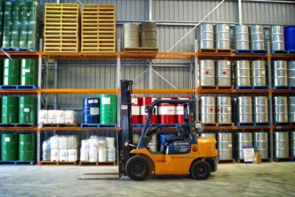 Eucalyptus oil barrels